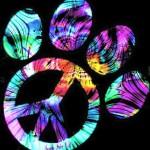 hippie paw print